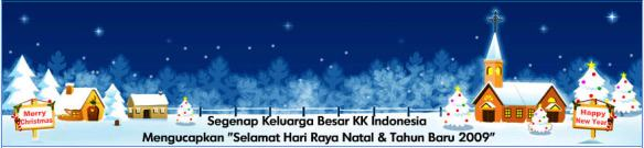 Selamat Hari Natal & Tahun Baru